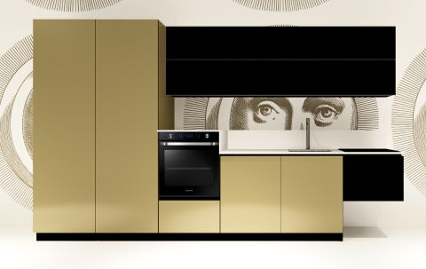 Replace Design kitchen - Black Goldy