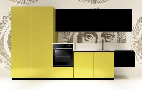 Replace Design kitchen - Black Light Green
