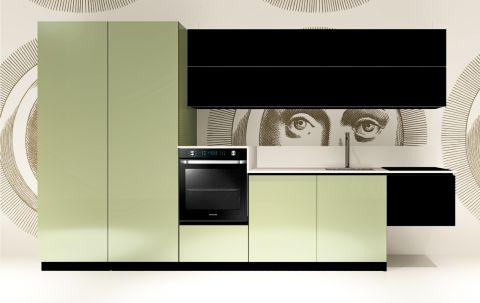 Replace Design kitchen - Black Marine