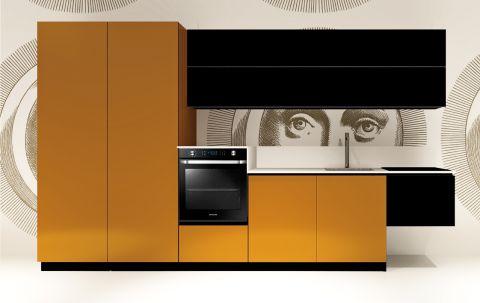 Replace Design kitchen - Black Orange