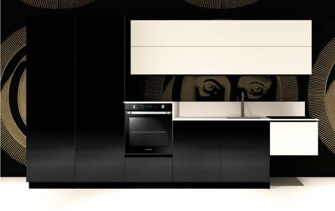 Replace Design kitchen - Black Squid
