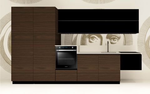 Replace Design kitchen - Black Walnut
