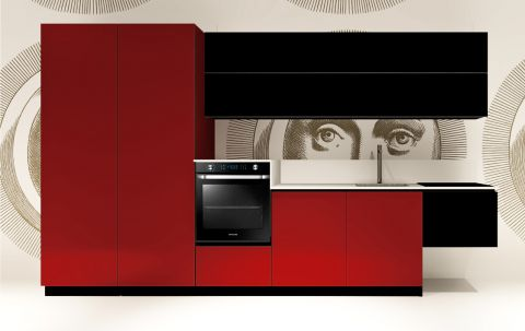 Replace Design kitchen - Black Ruby