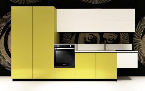 Replace Design kitchen - White Light Green