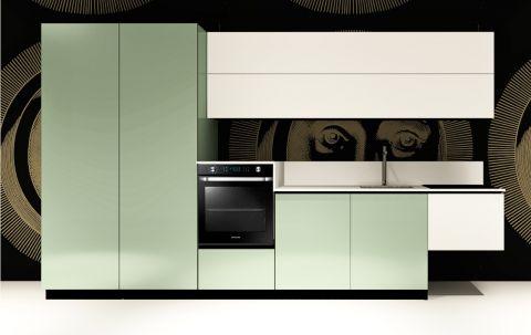 Replace Design kitchen - White Marine