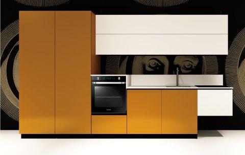 Replace Design kitchen - White Orange