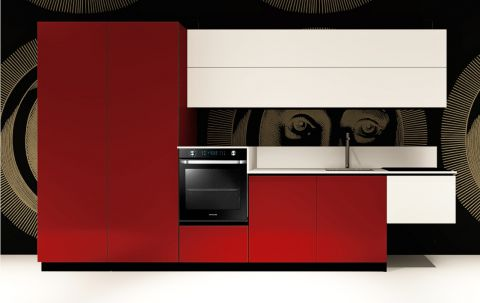 Replace Design kitchen - White Ruby