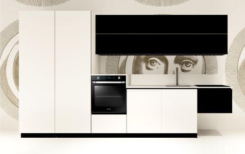 Replace Design kitchen - White Squid