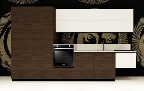 Replace Design kitchen - White Walnut